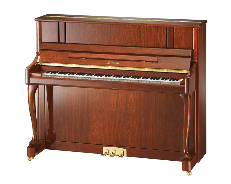 UH121R Cabriole Leg Studio Upright