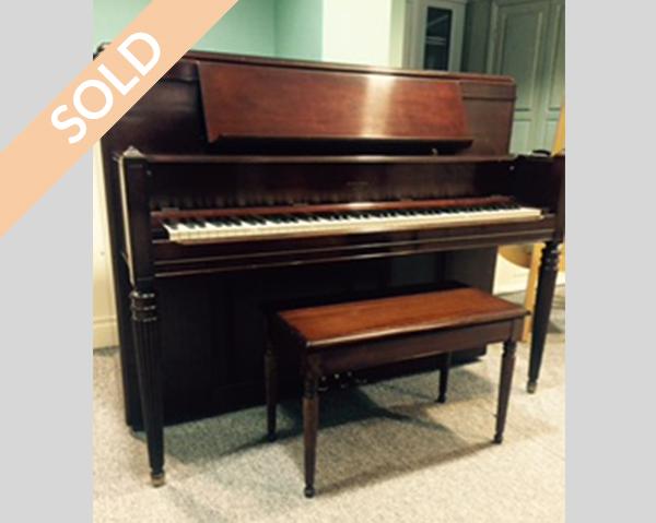 Restored Robert Lowrey Piano Experts