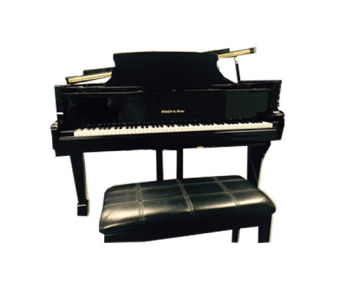 Schaffer & Sons 5′ Grand – Polished Ebony