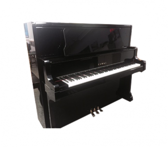 Kawai K80 Concert Upright Polished Ebony