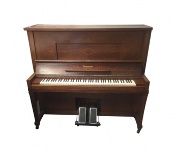 Newcombe Inlayed 'Player Piano and Rolls'