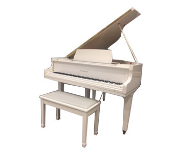 Samick Baby Grand Polished White