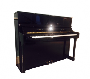 "Schimmel ""120"" Polished Ebony"