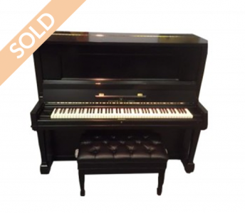 Steinway Studio Upright and Bench
