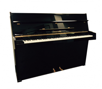 Zimmerman Console Polished Ebony